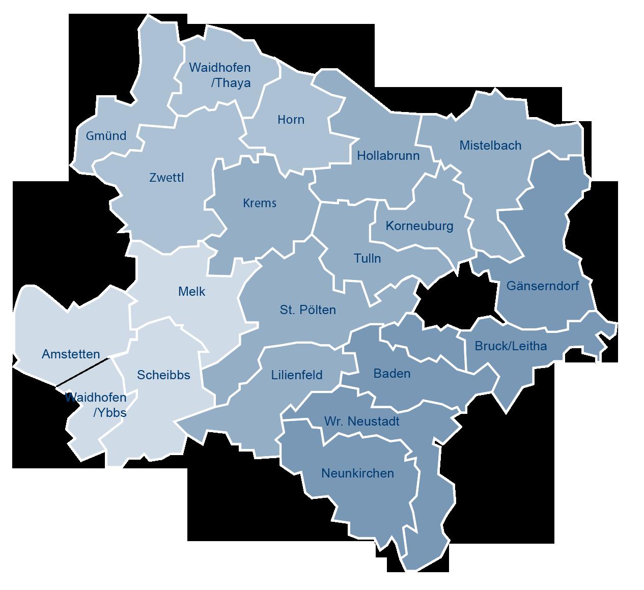 Südwestdatiing-Standorte